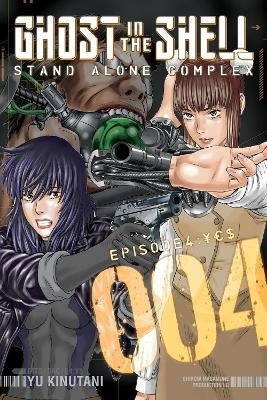 Ghost In The Shell Stand Alone Complex 4 Yu Kinutani 9781612620954