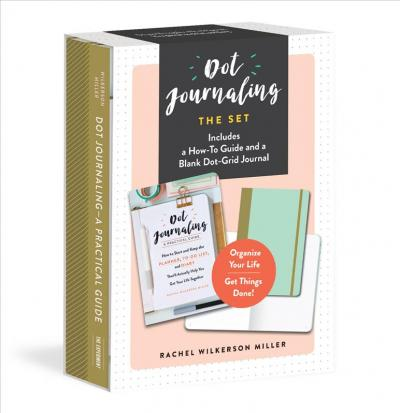 Dot Journaling--The Set : Includes a How-To Guide and a Blank Dot-Grid Journal