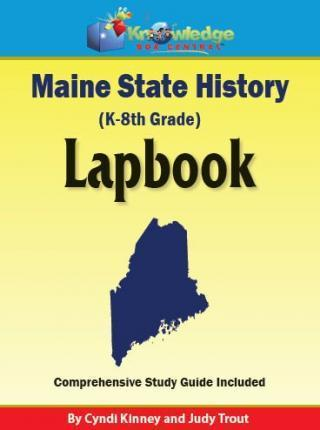 Maine State History Lapbook CD