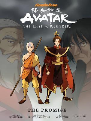 Avatar: The Last Airbender# The Promise Library Edition Cover Image