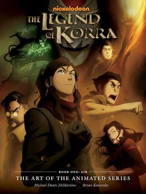 The Legend of Korra Cover Image