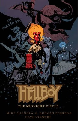 Hellboy: The Midnight Circus Cover Image