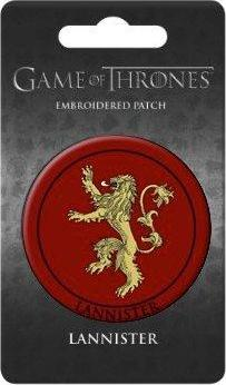 Game of Thrones Embroidered Patch Lannister