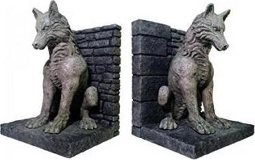 Game of Thrones Direwolf Bookends Cover Image