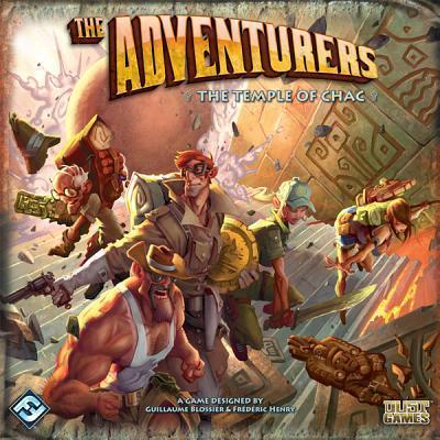 The Adventurers  The Temple of Chac Board Game