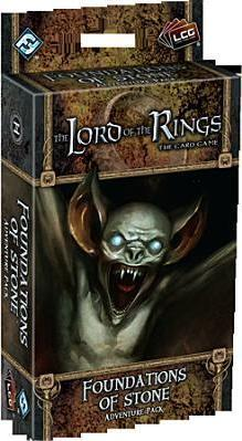 Lord of the Rings Lcg : Foundations of Stone Adventure Pack