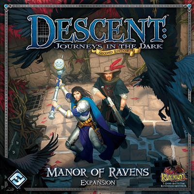 Descent : Journeys in the Dark 2nd Edition Manor of Ravens Expansion