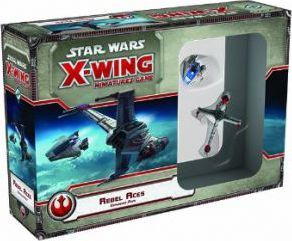 Star Wars X-Wing Miniatures Game : Rebel Aces Expansion Pack
