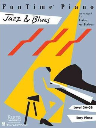 Funtime Piano Jazz & Blues Level 3a-3b Cover Image