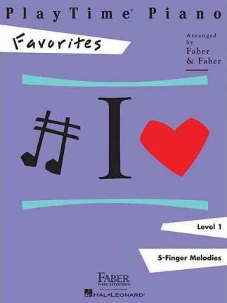 PlayTime Piano Favorites Cover Image