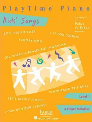 Playtime Piano Kids' Songs Cover Image