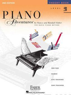 Piano Adventures - Theory Book - Level 2B Cover Image