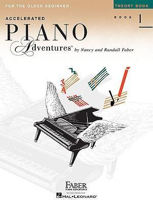 Piano Adventures for the Older Beginner Theory Bk1 Cover Image