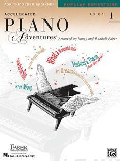 Piano Adventures for the Older Beginner Rep. Bk 1 Cover Image