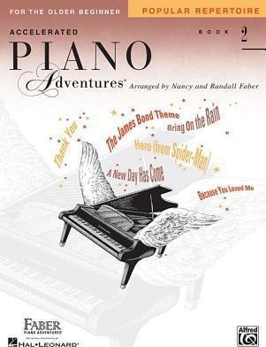 Accelerated Piano Adventures for the Older Beginner  Popular Repertoire
