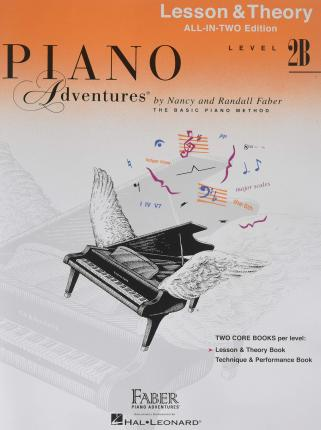 Piano Adventures : Level 2B Lesson And Theory Book - International Anglicized Edition (Book Only)