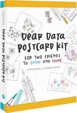 Dear Data Postcard Kit : For Two Friends to Draw and Share