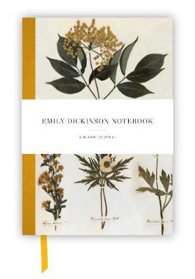 Emily Dickinson Notebook  a blank journal inspired  the poet's writings and gardens
