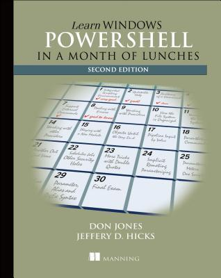 Learn Windows PowerShell 3 in a Month of Lunches Cover Image