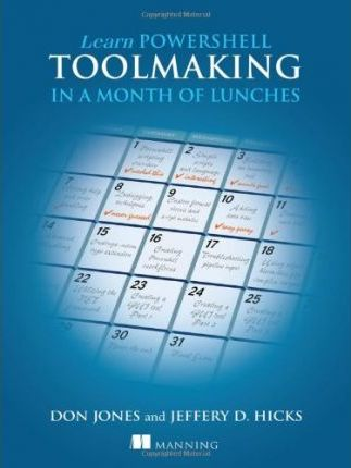 Learn PowerShell Toolmaking in a Month of Lunches Cover Image