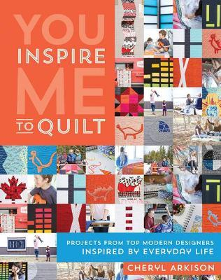 You Inspire Me to Quilt Cover Image