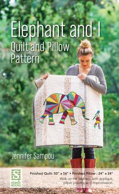 Elephant and I - Quilt and Pillow Pattern Cover Image