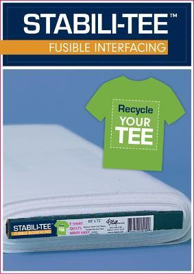 Stabili-TEE (R) Fusible Interfacing 60 x 10 yards bolt : T-Shirt Quilts Made Easy