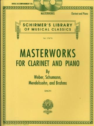 Masterworks For Clarinet And Piano (Book/Online Audio)