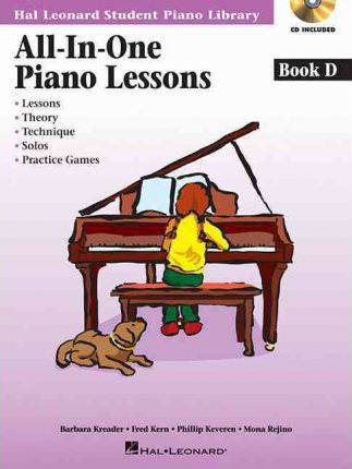 All-In-One Piano Lessons : Book D
