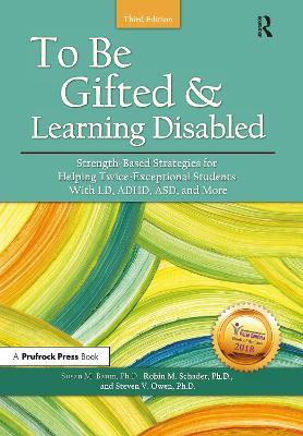 To be Gifted & Learning Disabled