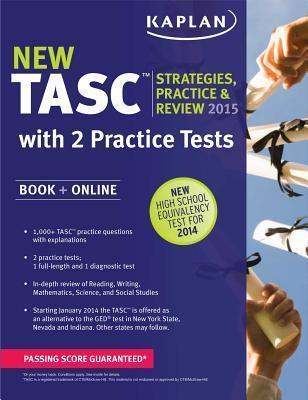Kaplan Tasc 2015-2016 Strategies, Practice, and Review with