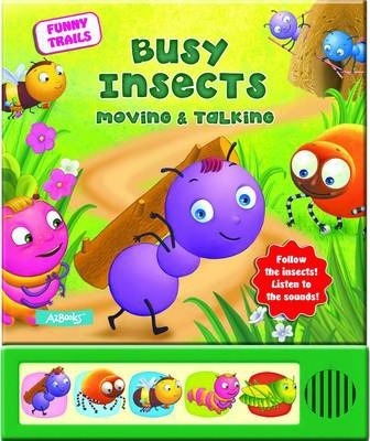 Busy Insects Moving & Talking Cover Image