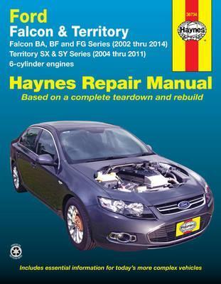 ford falcon automotive repair manual haynes publishing 9781620920237 rh bookdepository com 2005 Ford Falcon 2004 ford falcon service manual