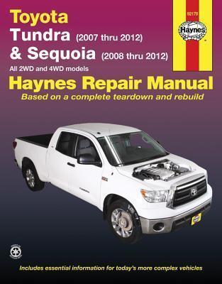 toyota tundra sequoia automotive repair manual editors of haynes rh bookdepository com 2007 toyota tundra repair manual toyota tundra repair manual download