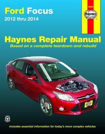 ford focus automotive repair manual haynes publishing 9781620921227 rh bookdepository com 2007 Ford Focus Owners Manual 2007 Ford Focus Service Book