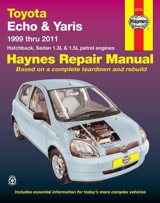 toyota echo yaris automotive repair manual haynes publishing rh bookdepository com Yaris Manual Transmission Toyota Yaris Manual Book