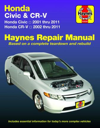HM Honda Civic & CRV 2001 - 2011