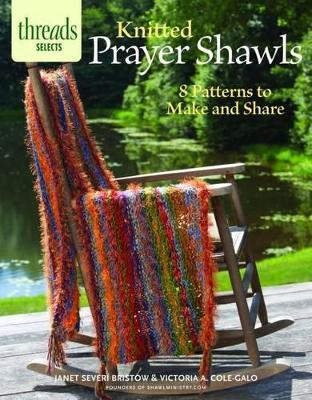 Knitted Prayer Shawls Cover Image