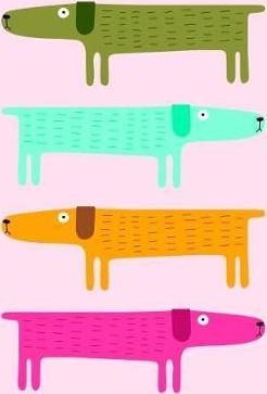 Dogs by Kate Larsen Greenbooklets - Triple Pack