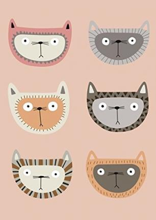 Cats by Kate Larsen Greenbooklets - Triple Pack