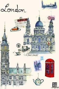 Worldcities by Martine Rupert Greenbooklets - Triple Pack