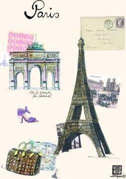 Paris by Martine Rupert Green Booklets - Triple Pack