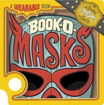Book-O-Masks: A Wearable Book Cover Image