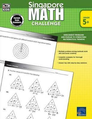 Singapore Math Challenge, Grades 5 - 8 Cover Image