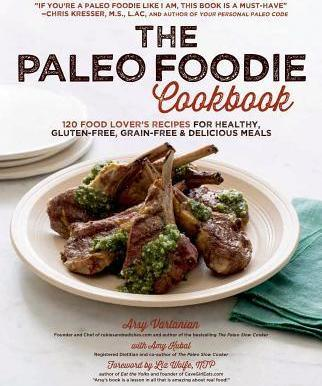 The Paleo Foodie Cookbook Cover Image