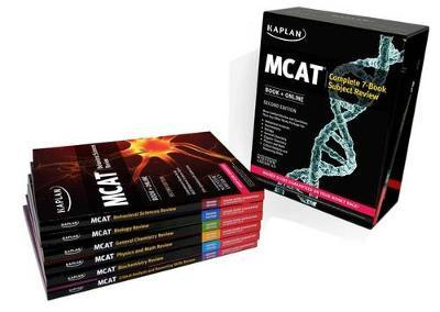 Kaplan MCAT Complete 7-Book Subject Review Cover Image