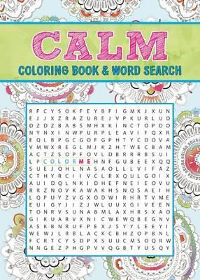 Calm Coloring Book Word Search Editors Of Thunder Bay Press