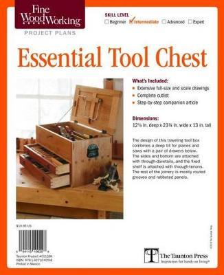 Fine Woodworking S Essential Tool Chest Plan Editors Of Fine