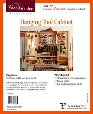 Fine Woodworking S Hanging Tool Cabinet Plan Editors Of Fine