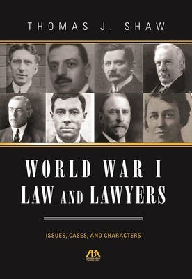 World War I Law and Lawyers